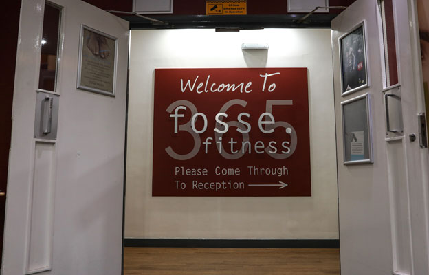 Entrance of Fosse Fitness